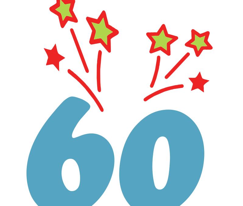 60 die Zahl des Tages