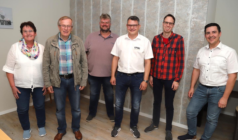 Der aktuelle Vorstand des HGV Barßel