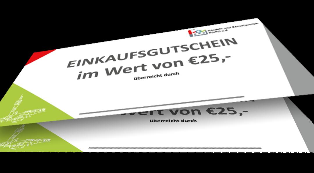 Einkaufsgutscheine vom HGV Barßel