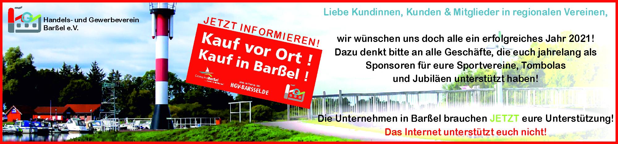 Kauf vor Ort! Kauf in Barßel!